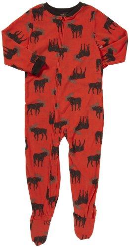 Moose Carters - Carter's L/S Footed Blanket Sleeper - Moose- 4