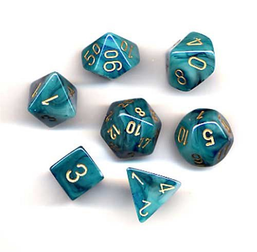 Chessex Polyhedral 7 Die Phantom Dice