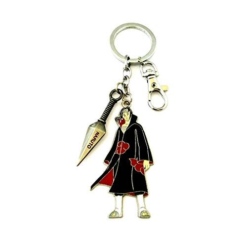 Anime Classic Naruto Akatsuki Itachi Uchiha Keychain w/Gift Box ()