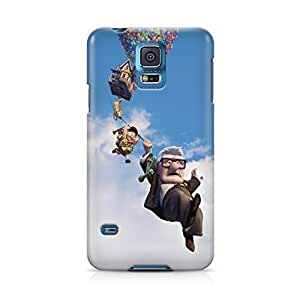 Up Movie Disney Pixar Carl and Ellie Love Full Wrap Rough case cover Skin, Fashion Design Image Custom , Durable Hard 3d case cover for Samsung Galaxy S5 Regular, case cover New Design By Art-print gccOzbiXOjr