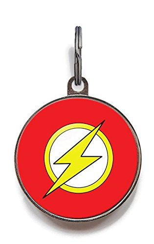 Image of Wag-A-Tude Tags The Flash Custom Pet ID Tag for Dogs and Cats (Small)