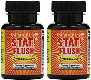 Emergency Flush - Stat Flush 5 Capsules (Flush, Pack of 2)