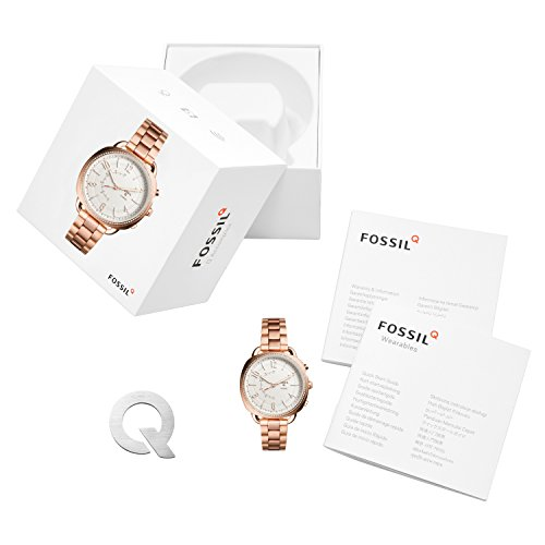 Fossil Hybrid Smartwatch - Q Accomplice Rose Gold-Tone Stainless Steel FTW1208 by Fossil (Image #3)