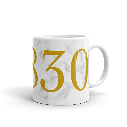 Greenwich Coffee (THE OFFICIAL 06830 ZIP CODE ENVY Coffee Mug (11oz) | Greenwich, Connecticut | The Richest Zip Codes of America Collection)