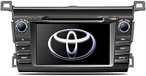 FlyAudio Car Navigation & DVD for Rav 4 Suitable for Model 2012-2017