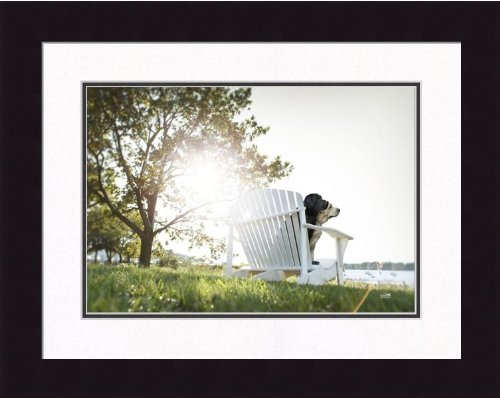 Ron Schmidt Framed Photograph - Adirondack 1 by Frames Plus