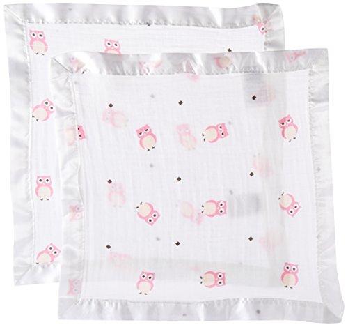 Lulujo Baby Muslin Security Blankets