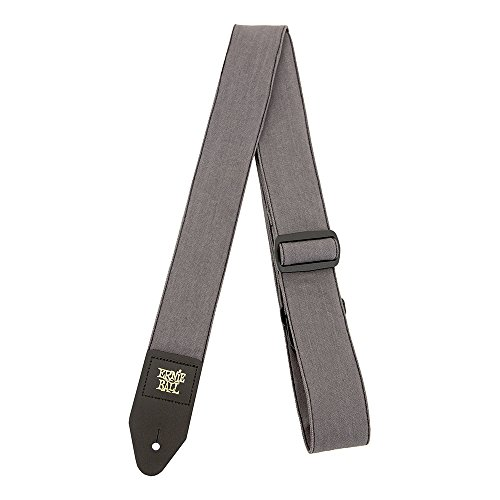 denim guitar strap slate wash