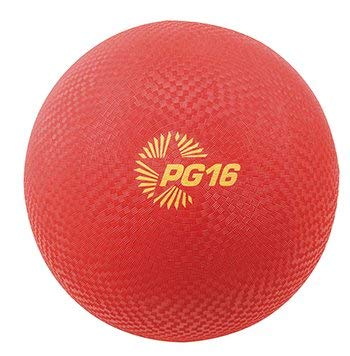 4 Pack CHAMPION SPORTS PLAYGROUND BALLS INFLATES TO 16IN by Champion Sports