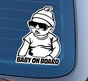 Topdesignshop Baby On Board Aufkleber Cooler Heckscheiben Auto Babyaufkleber Junge Cool Hangover Carlos An Bord Auto