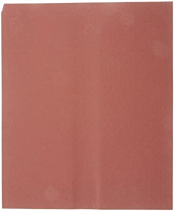 Norton K227 Metalite Lightning Abrasive Sheet, Cloth Backing, Aluminum Oxide, Grit P320  (Pack of 50)
