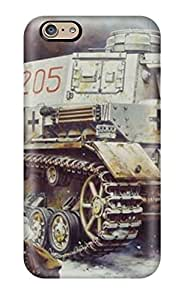 New Cute Funny Panzer Iv Tank Case Cover/ Iphone 6 Case Cover