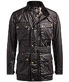 Belstaff Men's Waxed Cotton Trialmaster Jacket US 38 Mahogany