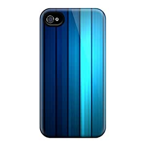 Snap-on Case Designed For Iphone 4/4s- Hd Stripess