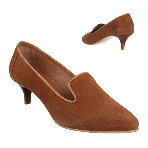 Ital-Design Women's Pumps Brown - Camel xt0zK