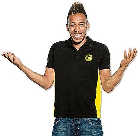 Borussia Dortmund BVB Polo Camisa Negro Negro Talla:Small ...