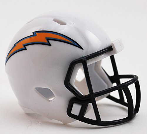 SAN DIEGO CHARGERS NFL Cupcake / Cake Topper Mini Football ()