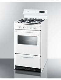 Summit WTM1307KSW Kitchen Cooking Range, White