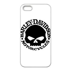 iPhone 5 5s Cell Phone Case White Harley Davidson Imqf