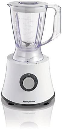 Morphy Richards 401013 Food Processor 2 Speed With Pulse Plus Accessories, White