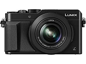 PANASONIC LUMIX LX100 4K Point and Shoot Camera, 3.1X LEICA DC Vario-SUMMILUX F1.7-2.8 Lens with Power O.I.S, 12.8 Megapixel, DMC-LX100K (USA BLACK)