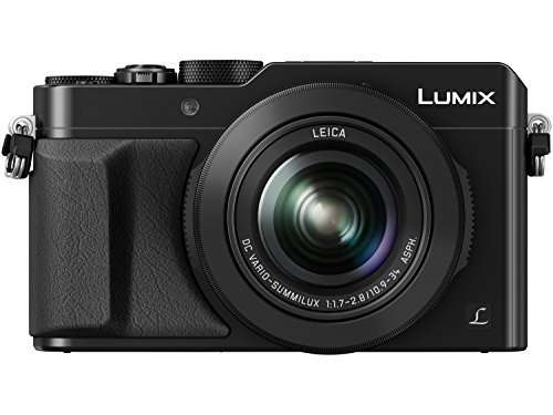 PANASONIC LUMIX LX100 4K Point and Shoot Camera, 3.1X LEICA DC Vario-SUMMILUX F1.7-2.8 Lens with Power O.I.S., 12.8 Megapixel, DMC-LX100K (USA BLACK) Panasonic Lumix Dmc Series