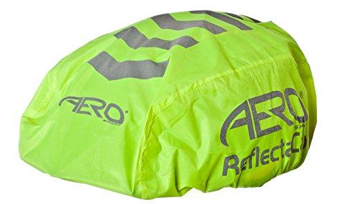 Aero Sport® Hohe Sichtbarkeit 3M Scotchlite reflektierende Helm & Rucksack Abdeckung Set Hmt6ORUmqM