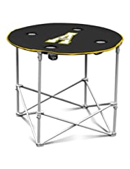 NCAA App St Mountaineers Round Tailgating Table