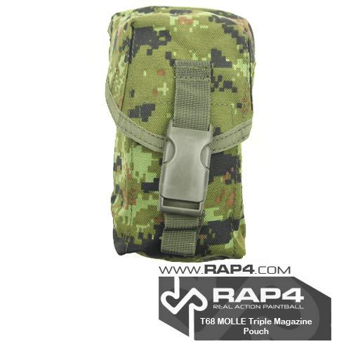 RAP4 MOLLE Triple M4 DMAG & Helix Magazine Pouch, CADPAT by RAP4