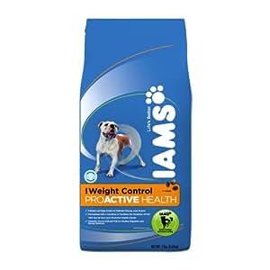 Iams Proactive Health Adult Dog Weight Control Premium Dog Food 7 Lbs (Pack of 2)