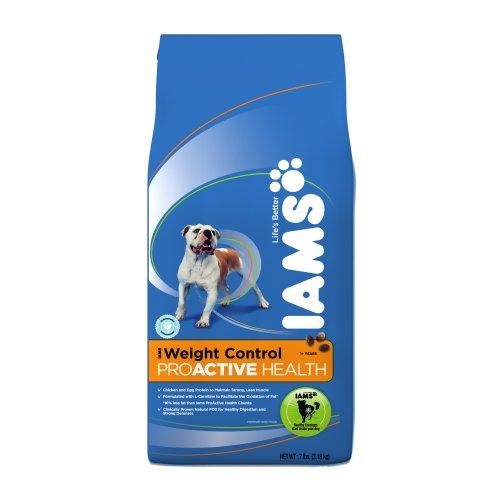 - Iams Proactive Health Adult Dog Weight Control Premium Dog Food 7 Lbs (Pack of 2)