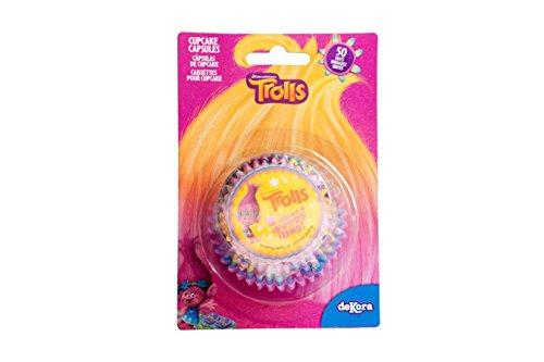 Trolls Cupcake Cases - 50 per pack
