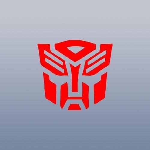 Transformers Autobot Decal Diecut Sticker Self Adhesive Vinyl Car window helmet