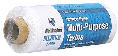 LEHIGH GROUP 10484 LEHIGH GROUP 10484 White Twisted Nylon Seine Twine, 525 Ft.