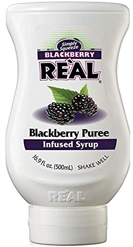 Banana Reàl, Blackberry Puree Infused Syrup, 16.9 FL OZ Squeezable Bottle | Pack of 12 by Reàl (Image #1)