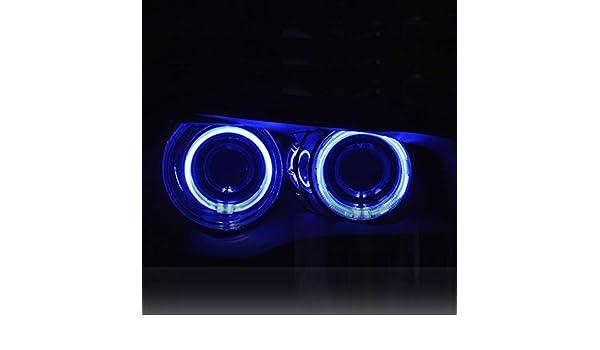 Unabi (TM) 4 x Anillo de Halo CCFL Angel Eye LED Kit proyector ...