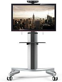 "Fleximounts P2 carro de TV móvil soporte de suelo cuadra a LCD LED Plasma de panel plano de 32""-70"" (81-178cm), soporte con ruedas"