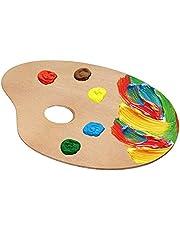 Verfbakje acrylverf houten paletten, verfbakjes, tekengereedschap voor kinderen om te schilderen