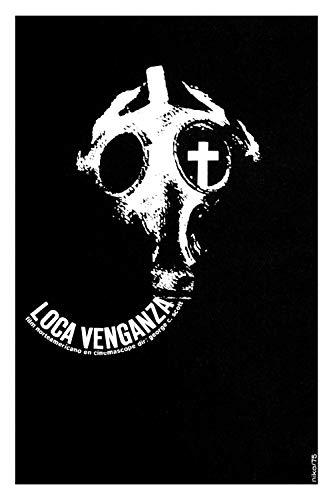 "24""x30"" Decoration Poster.American film by George C. Scott.Rage.Loca venganza.Gas mask.Richard Basehart.Martin Sheen.6709"