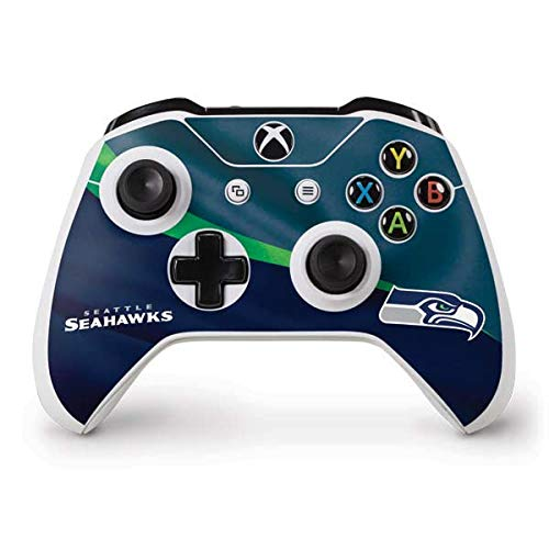 (Skinit Seattle Seahawks Xbox One S Controller Skin - Officially Licensed NFL Gaming Decal - Ultra Thin, Lightweight Vinyl Decal Protection)