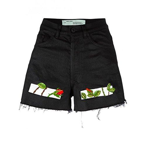 誓約劇的禁輸(オフホワイト) Off White レディース ボトムス ショートパンツ Roses Shorts 並行輸入品