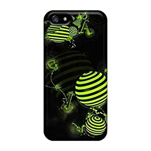 For Iphone 5/5s Fashion Design Green Figure Case-ojIAOLO3302dKloj