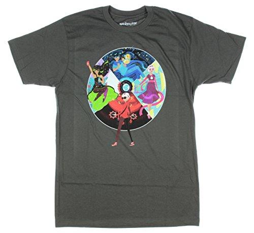 Homestuck Beta Lands T-Shirt (X-Large) Grey