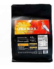 حبوب بن كاملة مختصة ومحمصة من دريب اون- اوغندا 250 غرام