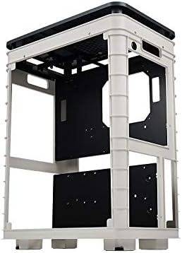 InWin Alice Open Air ATX Mid Tower con Cubierta a Prueba de Polvo - Chasis de computadora para Juegos para Banco de Pruebas y Carcasa HTPC: Amazon.es: Informática