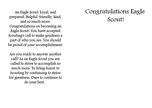 Eagle Scout Congratulations Card: Pack of 6 (3 Designs) Photo #2