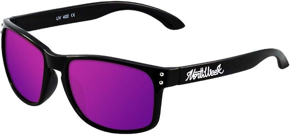 NORTHWEEK Bold Gafas de sol, Morado, 52 Unisex