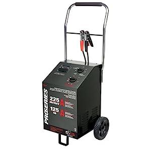 Schumacher PSW-22 DSR ProSeries 225/125/40/20/2 Amp 6/12 Volt Manual Wheel Battery Charger/Starter