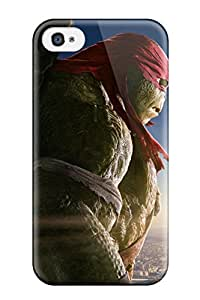 Fashion Protective Raphael In Teenage Mutant Ninja Turtles Case Cover For Iphone 4/4s