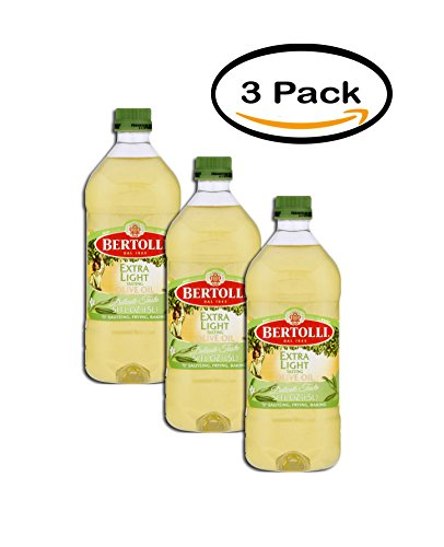 PACK OF 3 - Bertolli Extra Light Tasting Olive Oil Delicate Taste, 51.0 FL OZ